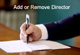 Change, Add or Remove Company Director in Madhya Pradesh